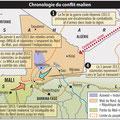 Global Magazine / Mali map
