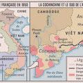 Ça M'intéresse Histoire / Indochine / Indochina map