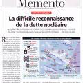 Historia / Essais nucléaires dans le Pacifique / French nuclear tests map