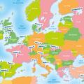 Bayard / Europe map