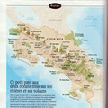 GEO / Costa Rica national parks map