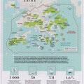 GEO / Réserves naturelles à Hongkong / Hongkong natural reserves map