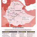 GEO / Grands projets en Éthiopie / Ethiopia's great plans, map