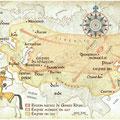 Ça M'Intéresse Histoire / Gengis Khan's conquests map