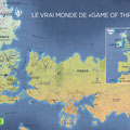 GEO / Les lieux de tournage de Game of Thrones / GOT's real sets map