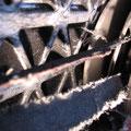 Roller-Antriebsriemen knapp unter der Verschleißgrenze