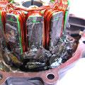 Magnet-Feldsalat: Lichtmaschine am Ende