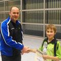 ...gratuliert seinem Filius Mario zur gewonnen Vereinmeisterschaft der Aktiven