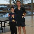 D. Schmidt / A. Graef (2. Platz Vereinsmeisterschaften 2009)