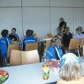 Zusammenkunft zum gemeinsamen Essen
