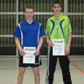Sieger der Doppelkonkurrenz: Patrick Jahn und Alexander Walz