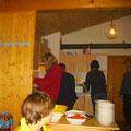 Einblick in das Treiben in der Küche