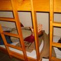 ...und die Weicheren im Stockbett - Axel testet mal vor
