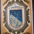 Escudo del Valle de Santiago, con la Osa Mayor en correspondencia con las 7 Luminarias