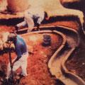 die ersten Ausgrabungen in La Venta förderten ausgeklügelte Wassersysteme zutage