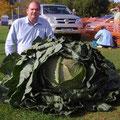 En la hoy de Álvarez empezó el cultivo de las hortalizas gigantes.