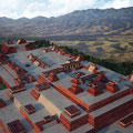 Monte Albán, Oaxaca, Modell