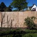 Rhombuszaun aus Holz, Sichtschutzzaun von GreenFairway e.K.