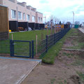 Zaunbau Hannover, Zaun Hannover  Doppelstabmattenzaun anthrazit, GreenFairway e.K.