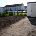 Gartengestaltung: Um ca. 9.00 Uhr morgens vor dem Beginn der Arbeiten, GreenFairway e.K.