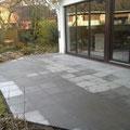 Terrasse mit Granitsteinplatten fertiggestellt, GreenFairway e.K.