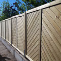 Bau von Zaunsichtschutzelementen  in Hannover, Burgdorf, Isernhagen aus Holz von GreenFairway e.K.
