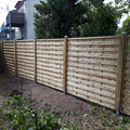 Sichtschutzzaun aus Holz von GreenFairway e.K.