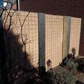Splittgabionen in Kombination mit Schieferwänden als Sichtschutz von GreenFairway e.K.