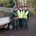 Ein Teil unseres Teams in der Mitte unser Praktikant - GreenFairway e.K.