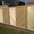 Sichtschutzelemente aus Holz von GreenFairway e.K.