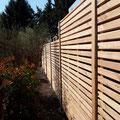Bau von Zaunsichtschutz / Rhombuszaun (Sondergrösse)  in Hannover, Burgwedel, Burgdorf, Isernhagen aus Holz von GreenFairway e.K.