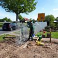 Bau einer Steingabione in Burgwedel, Burgdorf, Isernhagen, Hannover von GreenFairway e.K.