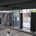 Bau von Splittgabionen in Hannover, GreenFairway e.K.