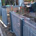 Bau einer Splittgabione in Burgwedel, Isernhagen, Burgdorf Hannover von GreenFairway e.K.