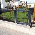 Doppelstabmattenzaun inkl. Gartentor von GreenFairway e.K.