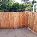Holzzaun inkl. Gartentür von GreenFairway e.K.