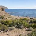 Kleine ruhige Bucht bei La Isleta