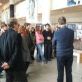 Rencontre - Expo avec les élèves des classes Arts Plastiques u Lycée Camille Sée à Colmar / Décembre 2011