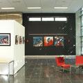 Galerie de la B.U de l'Université de Droit, Economie et Gestion de Nantes (Fr) / Septembre-Novembre 2015