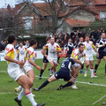 Match amical T.O / Dragons Catalans 23 Janvier 2010 crédit photo http://www.rugbytreizeaquitaine.fr/