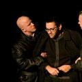 Sebastian und Peter als Gestapo, Sercan als Isaak