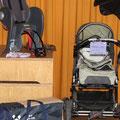 Kinderwagen, Velositze, Reisebett