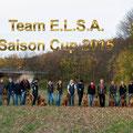 Das E.l.s.a Team holte sich den Saison Cup bei den Hündinnen und Rüden!