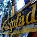Goldpfad im Geopark Schieferland