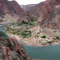 Am Colorado River South Kaibab Trail Grand Canyon