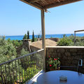 Unser Blick vom Balkon, Hotel Elies, Kardamili