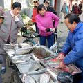 Markttag im Pekinger Hutong