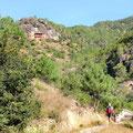 Trail zum Shizhong Tempel in den Shibao Mountains