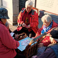 Das Hutong Leben auf der Strasse