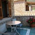 Balkon der Maisonette-Wohnung,  Hotel Elies, Kardamili